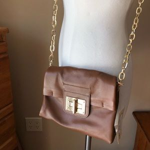 NWT Clarks Leather Crossbody Purse
